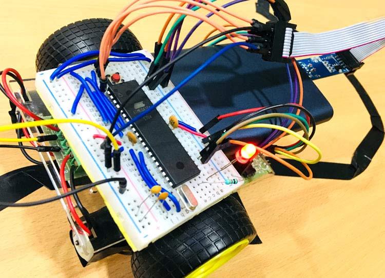 Outstanding Line Follower Robot Using Avr Microcontroller Atmega16 Wiring Cloud Peadfoxcilixyz