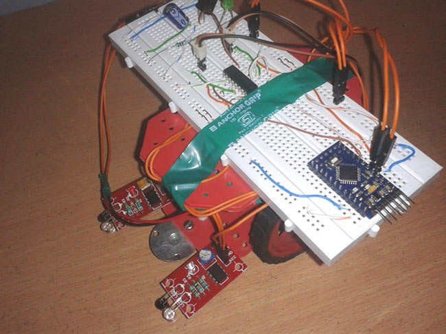 How To Make A Line Follower Robot Project With Circuit Diagram