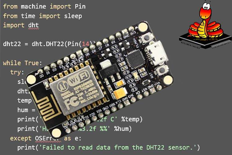 Program an ESP8266 with MicroPython