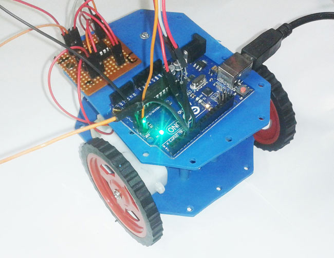 Computer Controlled Robot using Arduino