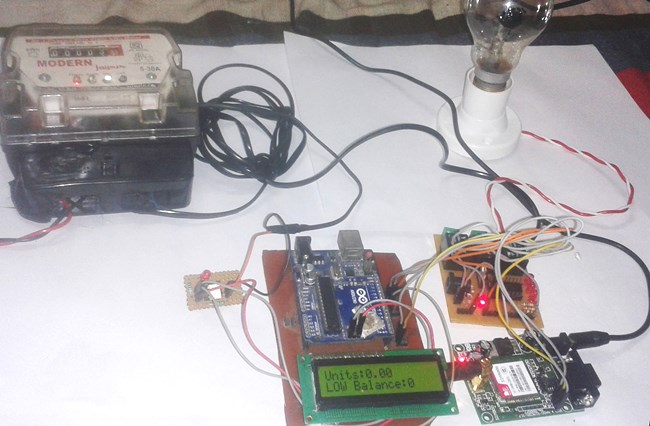 prepaid energy meter project using arduino rh circuitdigest com Homemade Power Supply Projects Power Supply Circuit