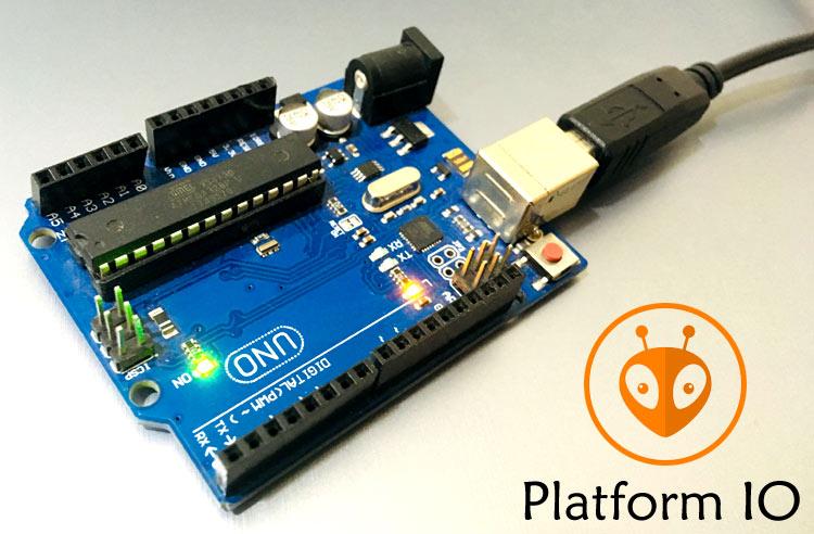 Programming Arduino using Platform IO: Blinking LED