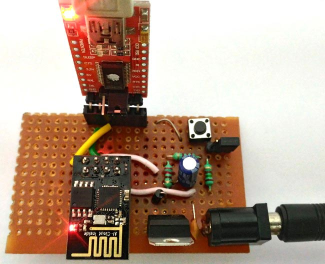 Programming ESP8266 WiFi Transceiver using AT Commands