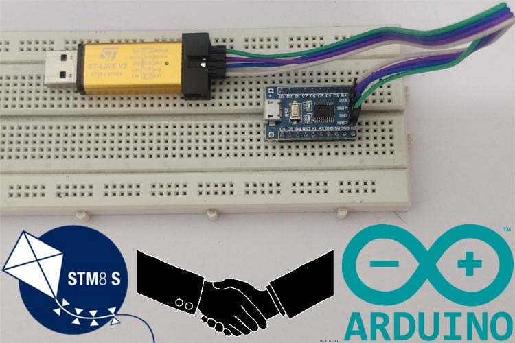 Programming STM8S Microcontroller using Arduino IDE