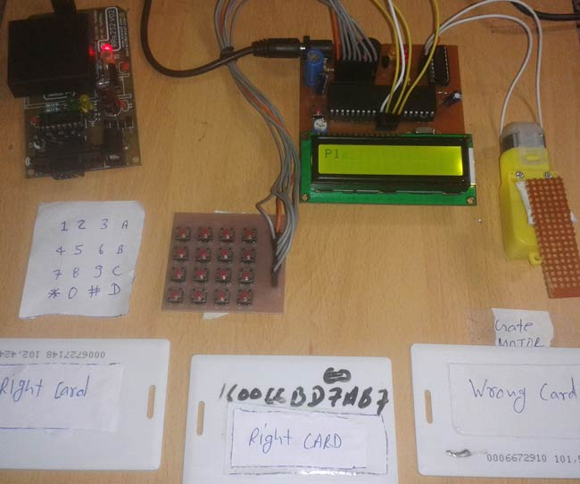 RFID Based Security System using 8051 Microcontroller