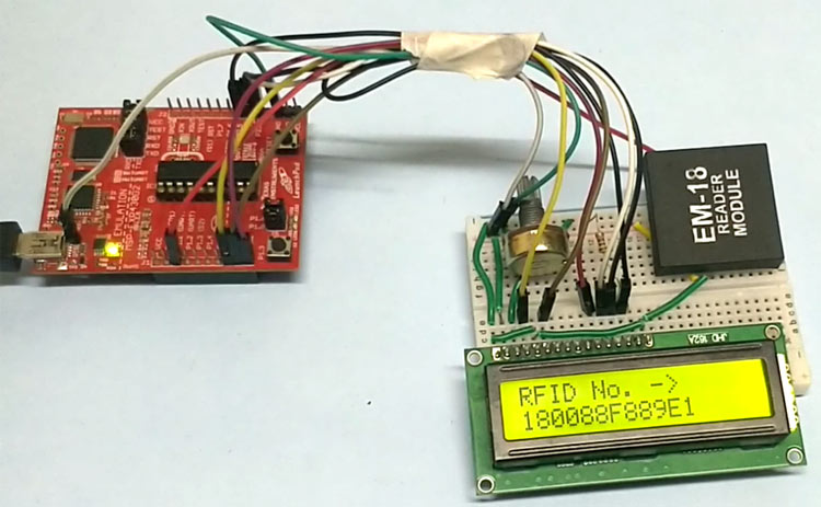 RFID Interfacing with MSP430 Launchpad