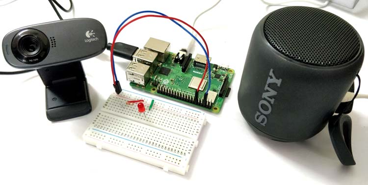 Raspberry Pi GPIO control using Amazon Alexa Voice Services