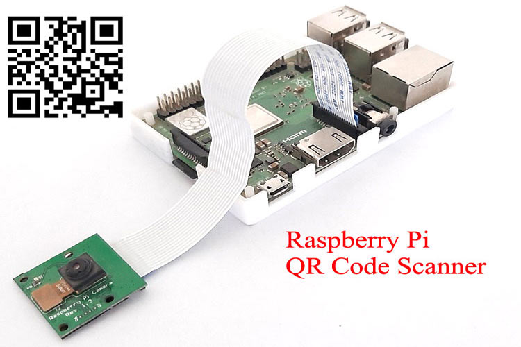 QR Code Scanner using Raspberry Pi and OpenCV