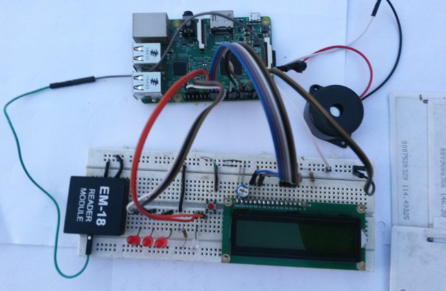 Create an attendance system using RFID and a Raspberry Pi
