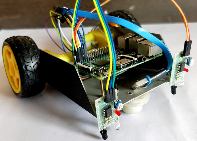 Line Follower Robot using Raspberry Pi