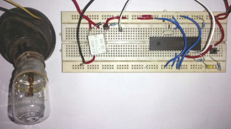Relay Interfacing with PIC Micro-controller