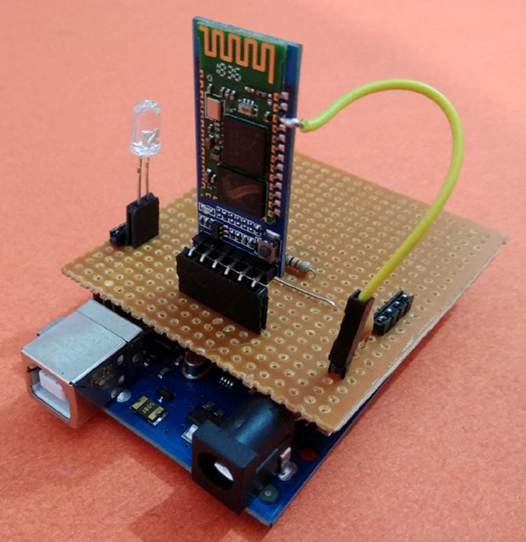 DIY Arduino Wireless Programming Shield using Bluetooth Module