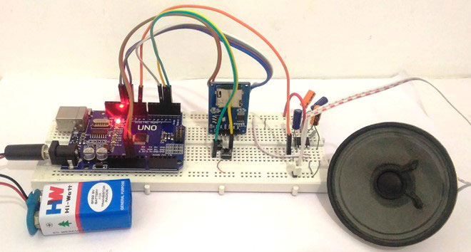 Simple arduino audio music player with sd card