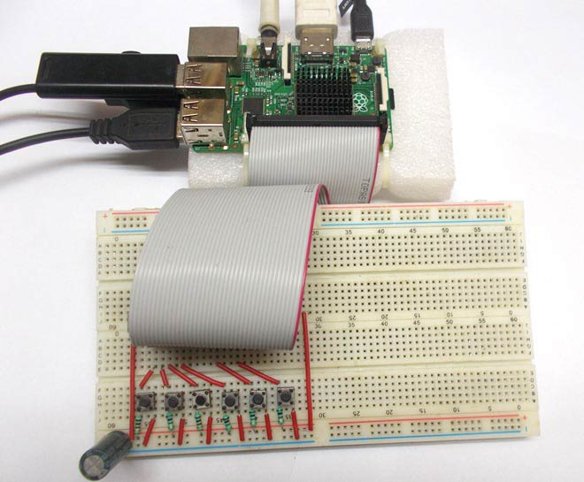 Sound Board using Raspberry Pi and Pygame