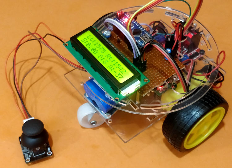 Speed, Distance and Angle Measurement for Mobile Robots using Arduino and LM393 Sensor (H206)