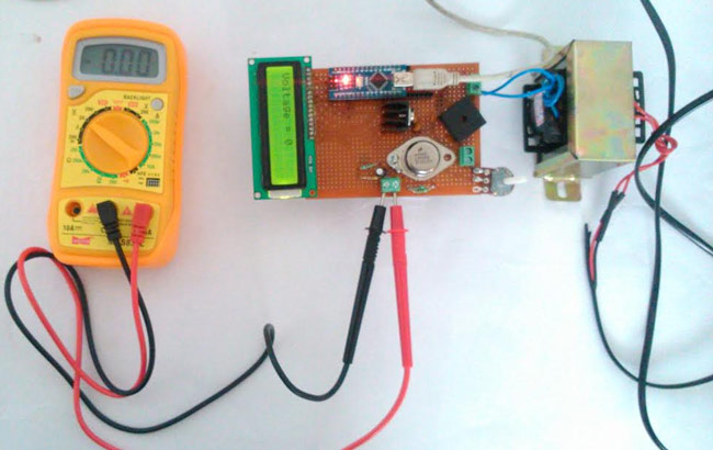 0-24v 3A Variable Power Supply using LM338