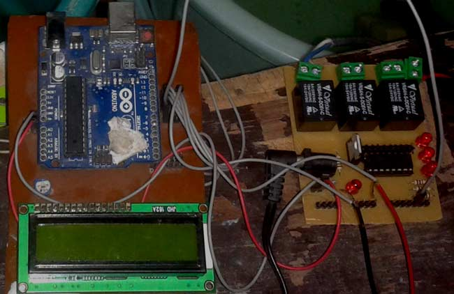 Arduino Based Automatic Water Level Indicator And