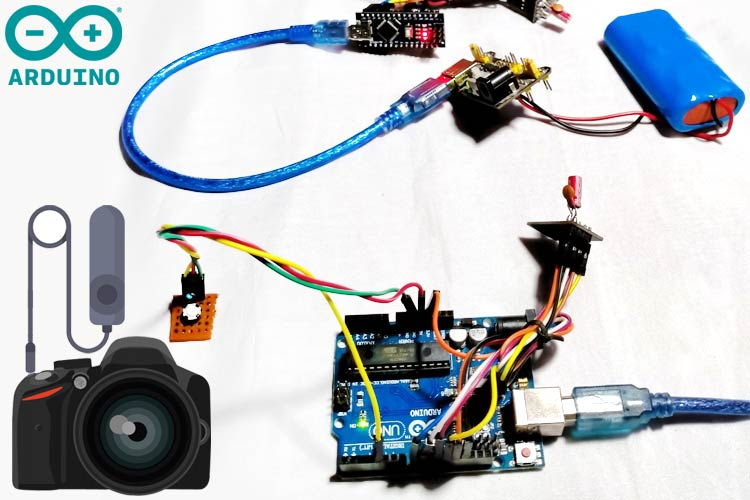 Wireless Controlled Shutter Button for DSLR
