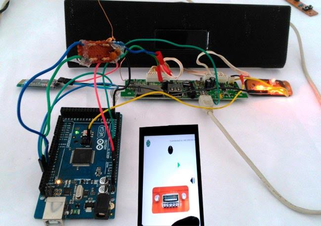 Smart Phone Controlled Bluetooth FM Radio using Arduino and Processing