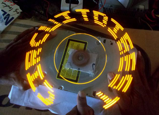 DIY Arduino Propeller LED Display
