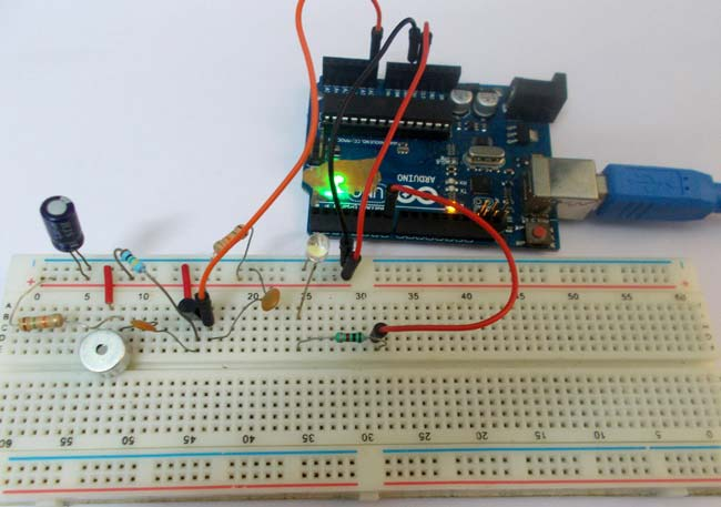 switch using arduino clap switch using arduino