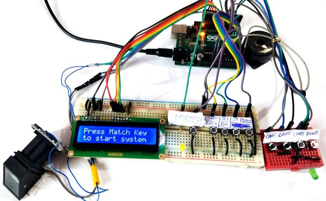 Finger Print Based Biometric Voting Machine using Arduino