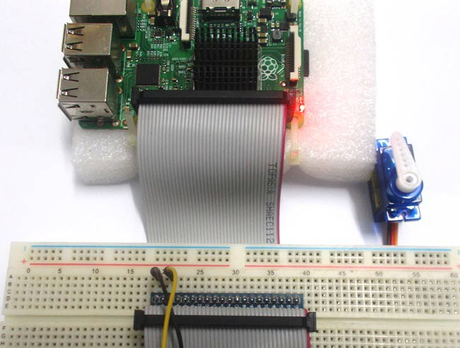 Servo Motor Control with Raspberry Pi