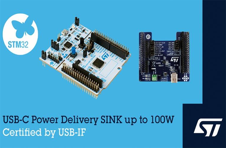 STMicroelectronics 100W USB PD Development Board