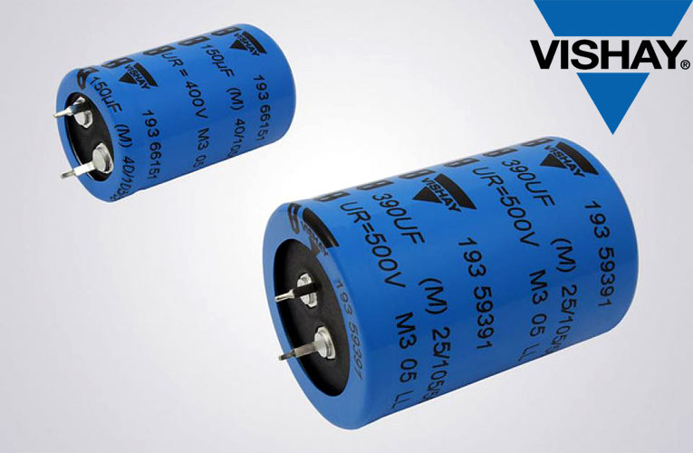 193 PUR-SI Miniature Snap-in Power Aluminum Electrolytic Capacitors