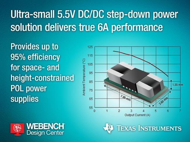 5.5-V DC/DC step-down power module