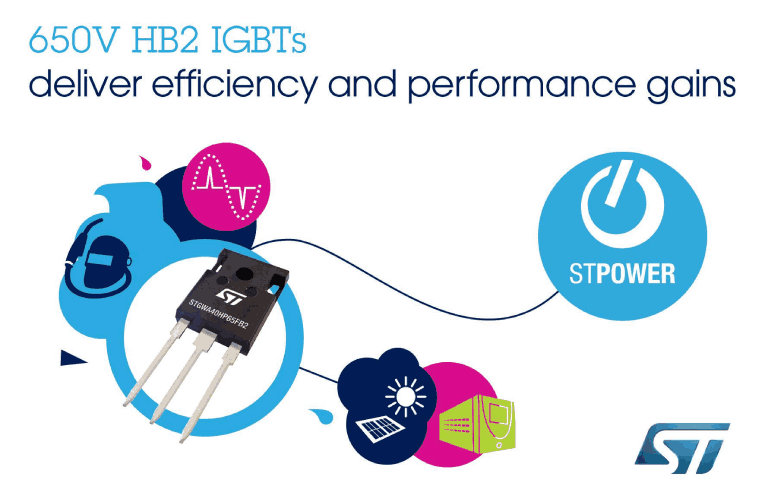 650V High-Frequency IGBTs Boost Performance with Latest High-Speed Technology