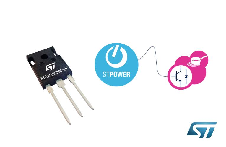 Advanced IGBTs Optimized for Soft Switching Raise Induction-Heating Efficiency in Home Appliances