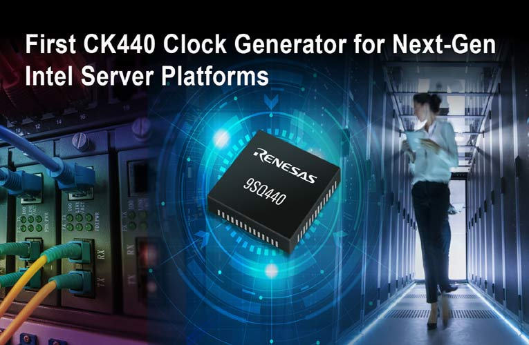 Low-Jitter CK440Q-Compliant 9SQ440 Clock Generator IC