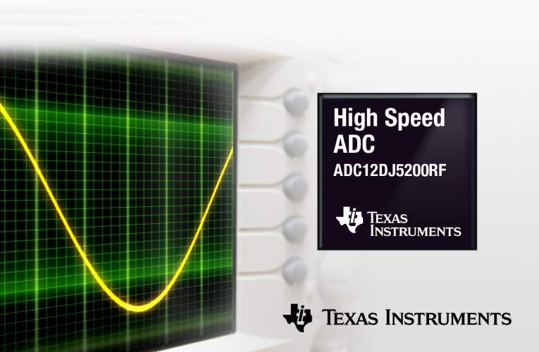 12-bit ADC meets the most demanding requirements of tomorrow's test and measurement, and defense applications