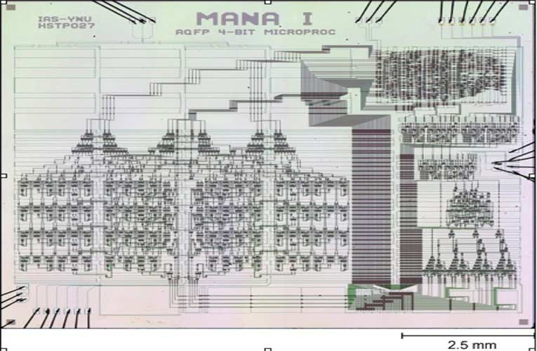 4-bit AQFP MANA Microprocessor