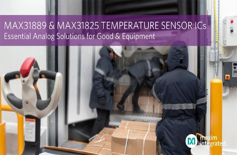 MAX31889 and MAX31825 Analog Temperature Sensors