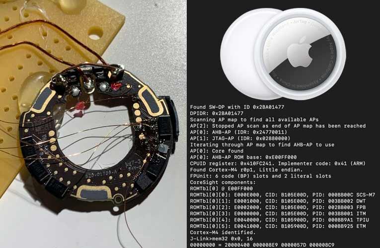 Apple AirTag Microcontroller