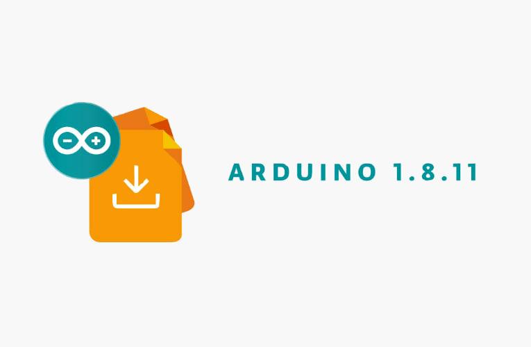 Arduino IDE 1.8.11