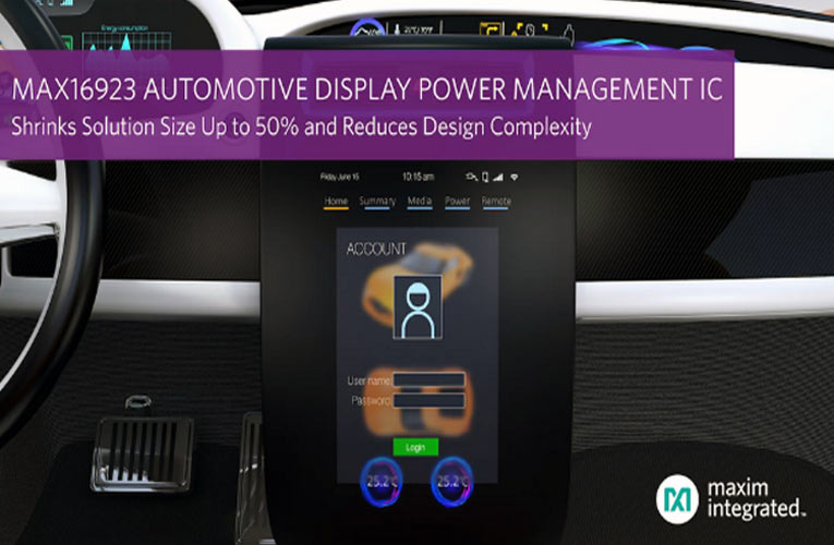 Automotive Display Power Management IC