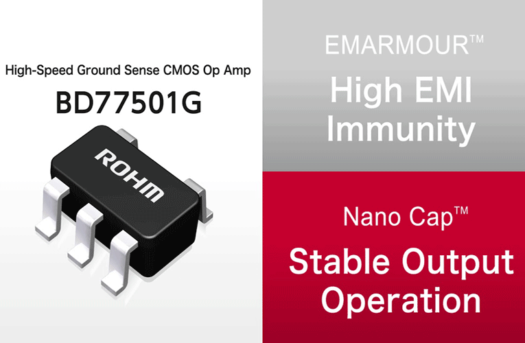 ROHM's BD77501G CMOS Operational Amplifier