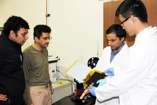 Clemson researchers blaze new ground in wireless energy generation for future electronic gadgets