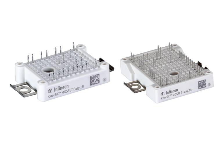 EasyPACK™ modules with CoolSiC™ MOSFETs for EV charging and UPS