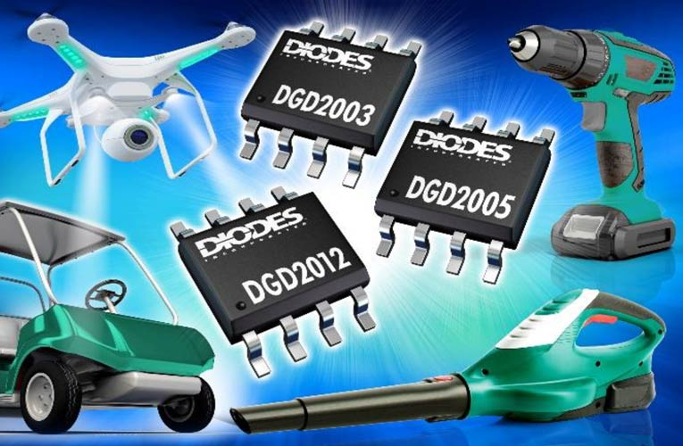 DI released High-Speed 200V Gate Drivers in an SO-8 Package