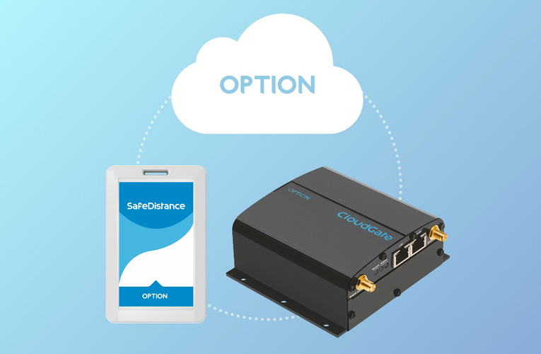 Digi-Key's Safe Distancing Solution using LoRa Network