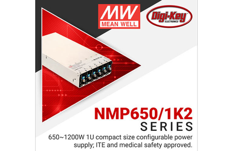 Digi-Key's Power Focus Campaign with MEAN WELL