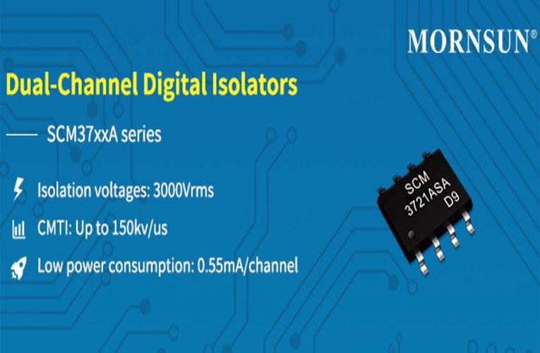 SCM37xxA - Dual Channel Digital Isolator IC