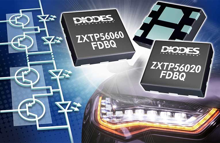 ZXTP56060FDBQ and ZXTP56020FDBQ Dual PNP Transistor