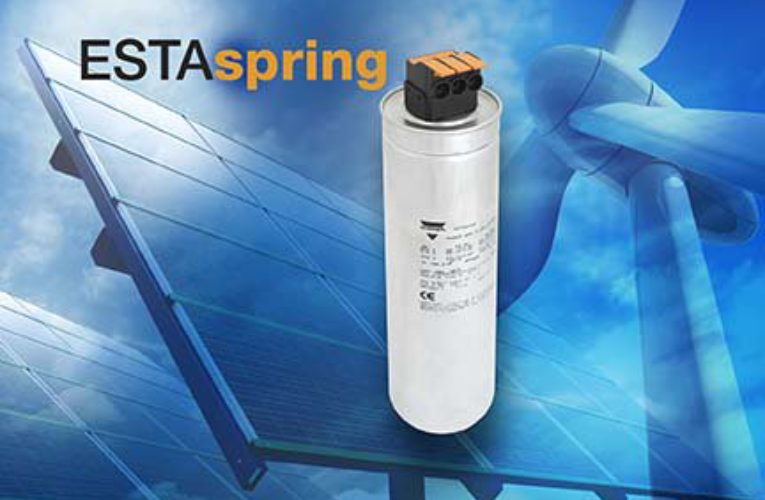 LVAC Power Capacitors With ESTAspring Features Lever-Operated Spring Terminal Connection