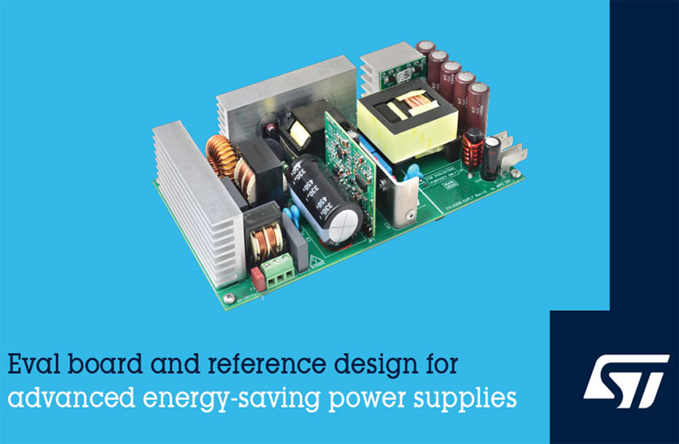 EVL400W-EUPL7 Eco-Certified 400W Evaluation Board from STMicroelectronics