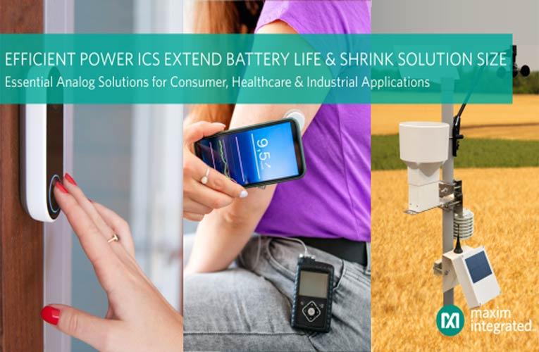 Maxim's Essential Analog Efficient Power ICs